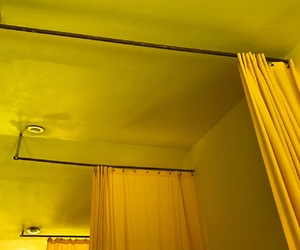 aesthetic, colors, and curtains image