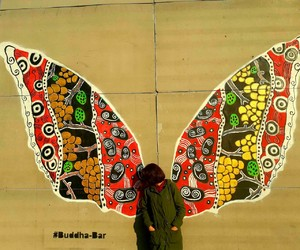 boho, butterfly, and colours image