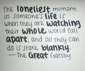 quote, life, and the great gatsby image