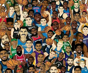 boston celtics, russell westbrook, and james harden image