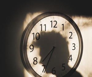 aesthetic and clock image