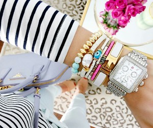 bracelets, outfit, and style image