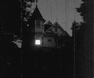 house and night image