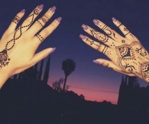 henna, nails, and amazing image