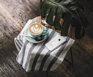 aesthetic, black coffee, and breakfast image