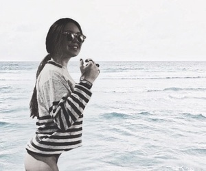 beach, butt, and girl image
