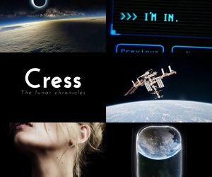 book, cress, and the lunar chronicles image