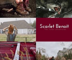 book, scarlet, and scarlet benoit image