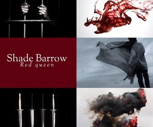 barrow, Queen, and red image