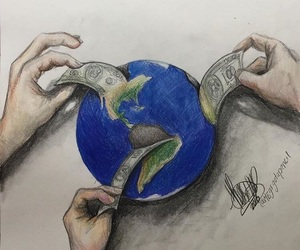 earth and money image