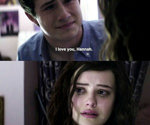 13 reasons why, hannah baker, and clay image