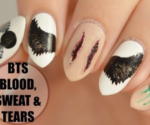 nails, bts, and bst image