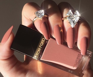 nails, luxury, and beauty image