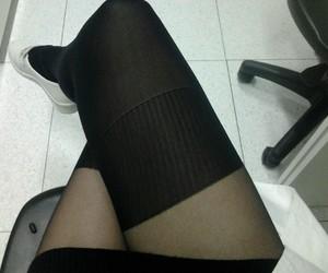 thigh high socks image
