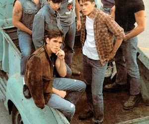 the outsiders, patrick swayze, and boy image