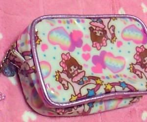 bag, hearts, and kawaii image