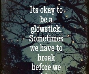 glowstick, life, and quotes image