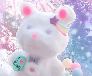kawaii and snow image
