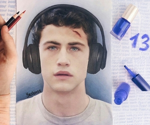 13 reasons why, art, and clay image