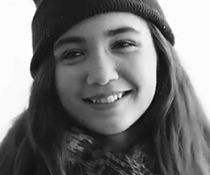 black and white, icon, and rowan blanchard image