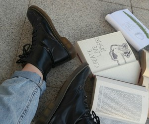 book, grunge, and aesthetic image
