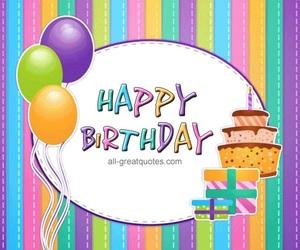 birthday, hbd, and cake image