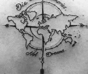 tattoo, world, and memories image