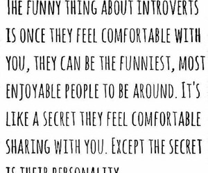 introvert, quote, and personality image