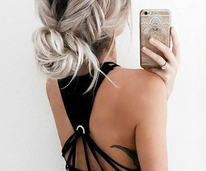 hair and selfie 'heart this!' image