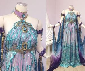 dress, fantasy, and fashion image
