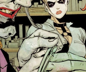 comics, DC, and joker image