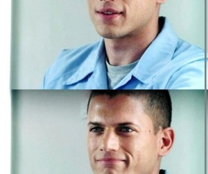 prison break, michael scofield, and wentworth miller image