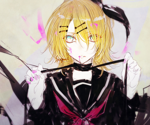 art, kagamine rin, and vocaloid image