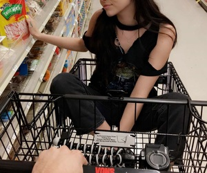 shopping, maggie lindemann, and brennen taylor image