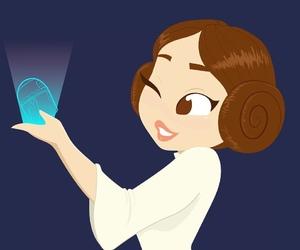star wars and leia image