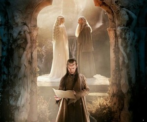 gandalf, middle earth, and the hobbit image