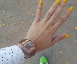 casio, nails, and vans image