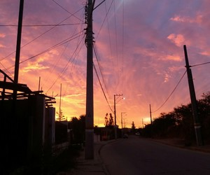 atardecer, chile, and cielo image