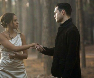 the vampire diaries, bonnie bennett, and enzo image