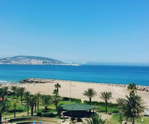 beach, plage, and morocco image