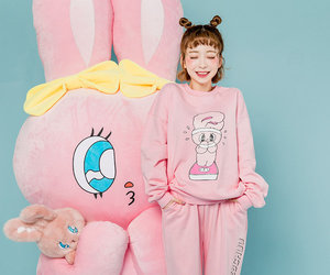 bunny, fashion, and style image