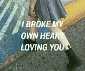 quotes, grunge, and heart image