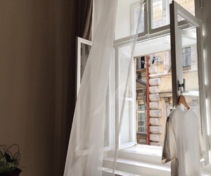 aesthetic, white, and window image