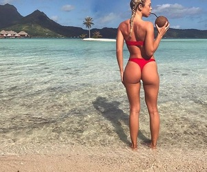 ass, blondie, and booty image
