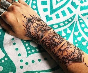 tattoo, Tattoo Designs, and tattoo girl image