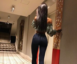 girl and jeans image