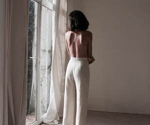girl, art, and white image