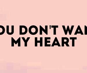 attention, heart, and Lyrics image