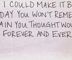 forever, handwritten, and Lyrics image