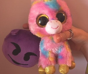 fluffy, peluche, and pink image
